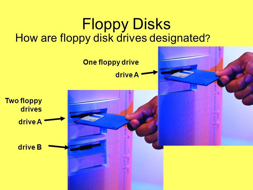Introduction Computer Hardware Jess Role @UEAB 2006 Floppy Disks How are floppy disk drives designated .