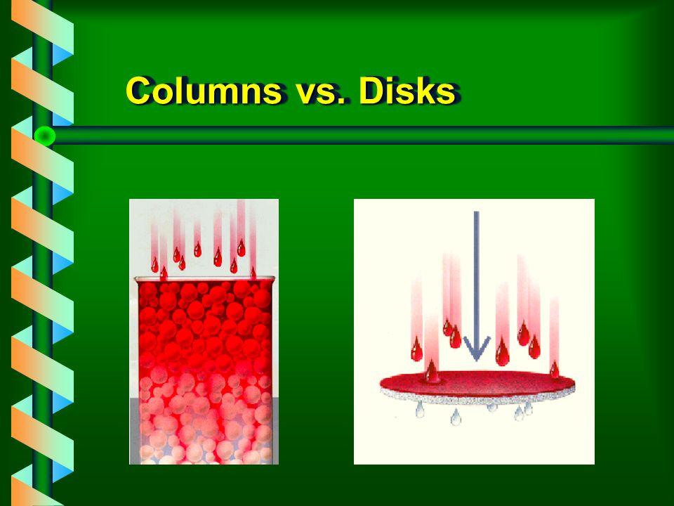 Columns vs. Disks