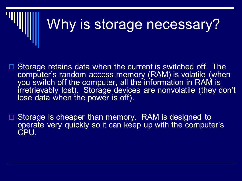 How is Storage Capacity Measured.