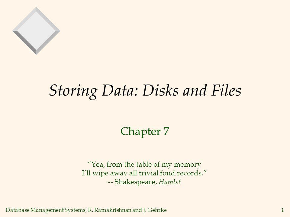 Database Management Systems, R.Ramakrishnan and J.
