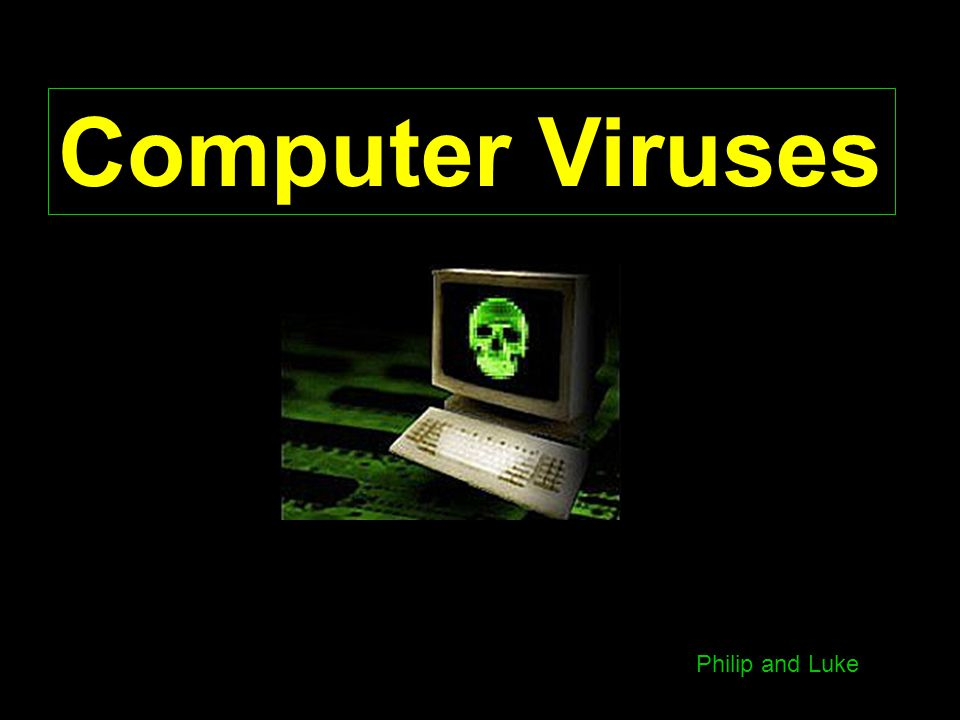 Computer Viruses Philip and Luke