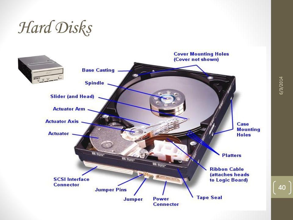 Hard Disks 6/3/2014 40
