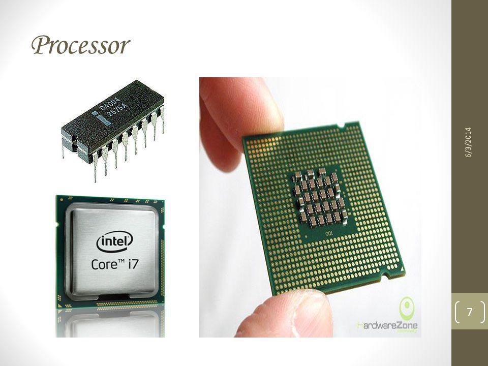 Processor 6/3/2014 7