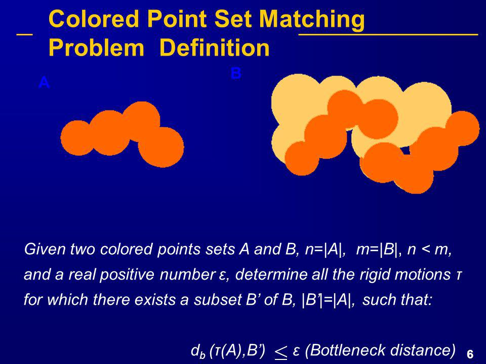 37 Candidate Zone Determination Candidate zone determination algorithm complexity: O(max{m log m, c(t - s)}) - c: number of candidate zones - t (root quadtree size) and s depend on the size of the bounding boxes of A and B.