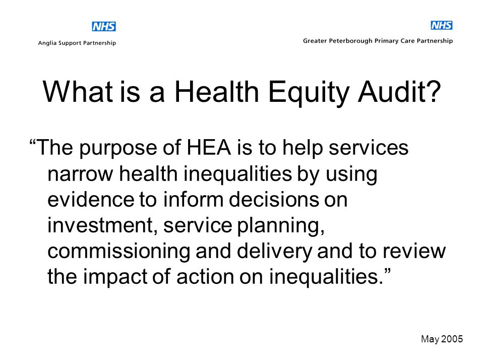 May 2005 CHD Health Equity Audit using Primary Care Data 12 May 2005 National PRIMIS Conference Vicky Smith, Acting Primary Care Information Manager (
