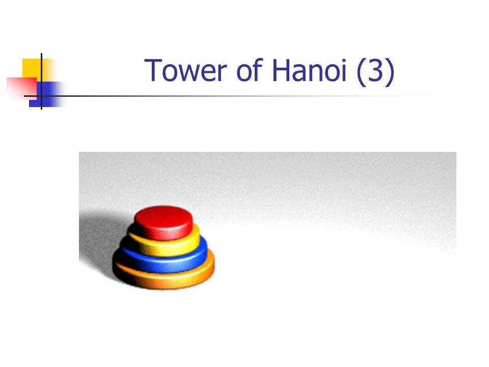 Tower of Hanoi (3)