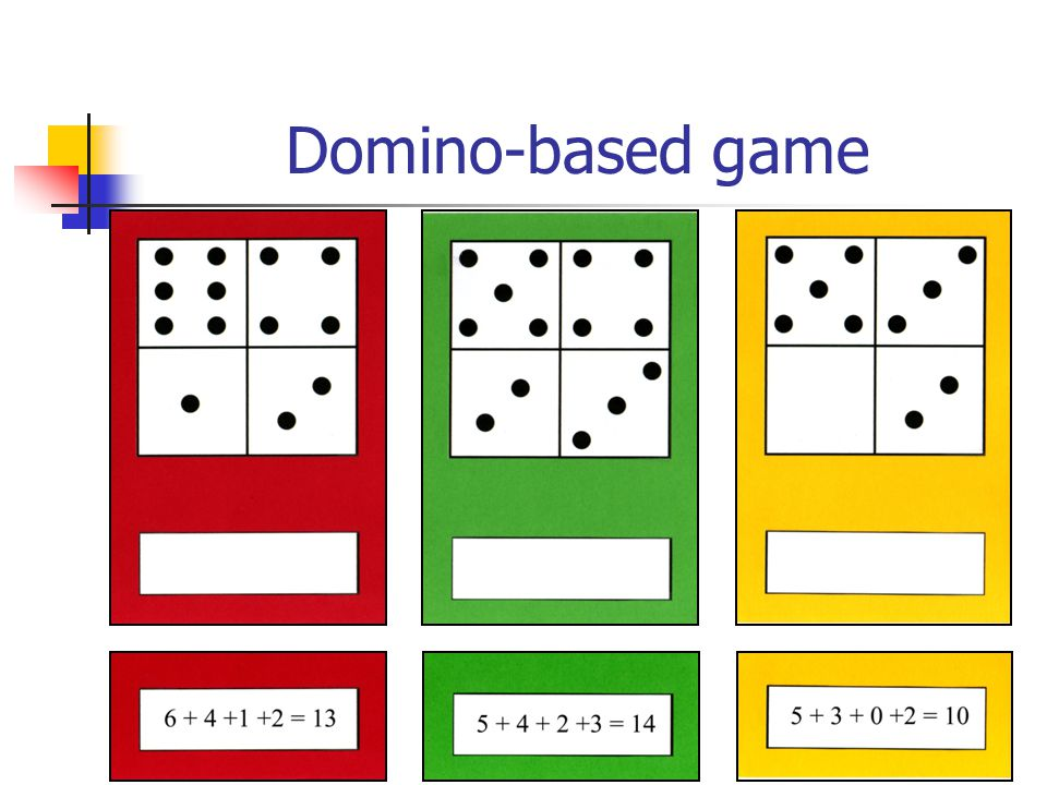 Domino-based game