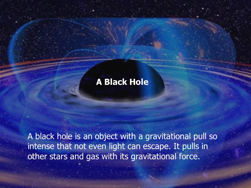 It does this by precisely measuring the speed of gas and stars around a black hole. This provides clues for the existence of a black hole. Astronomers