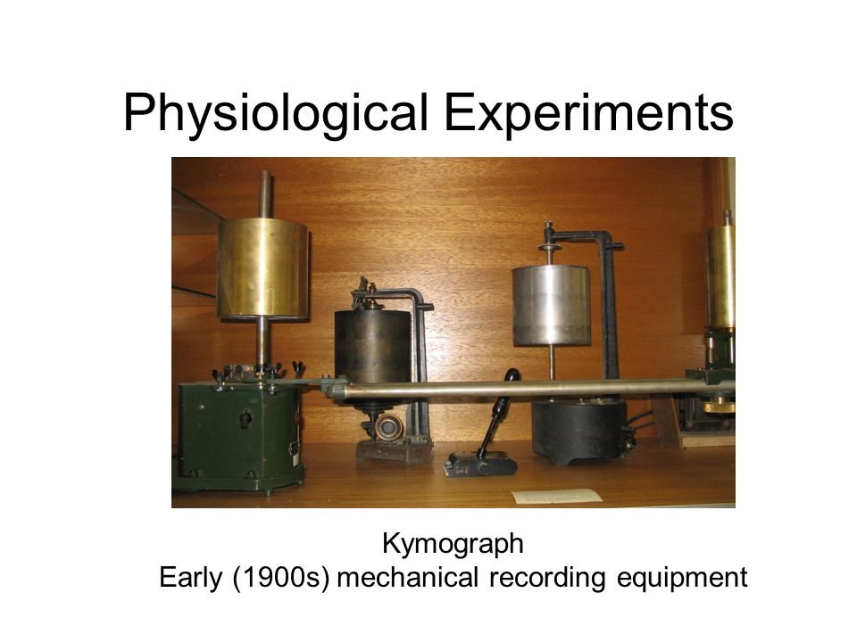 Physiological Experiments GSR Amplifier Valve based, 1950s