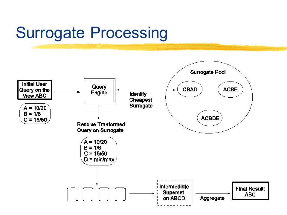 Surrogate Processing