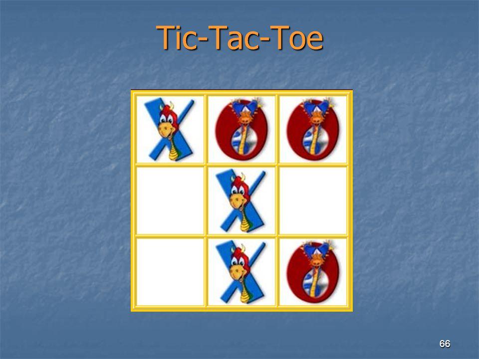 66 Tic-Tac-Toe