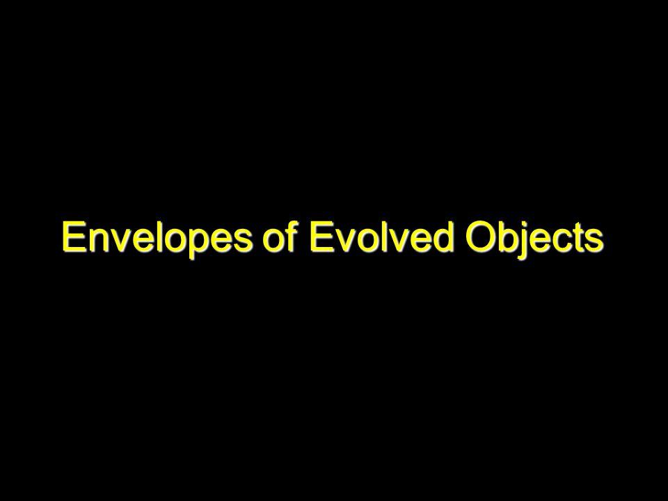 Envelopes of Evolved Objects