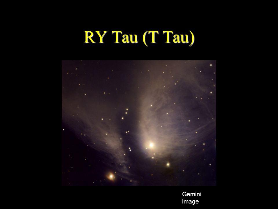RY Tau (T Tau) Gemini image