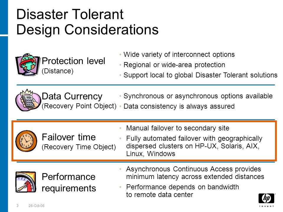 Till Stimberg, SWD EMEA 26-Oct-0634 Automated failover Question: How long does a CLX failover take.