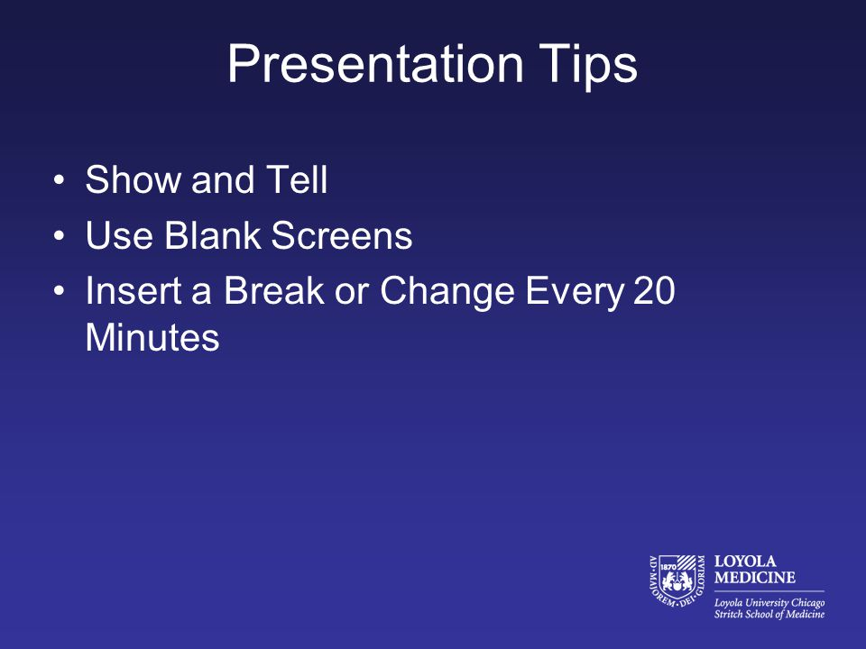Presentation Tips Grab Attention Early Think About Non-Verbal Communication –http://www.youtube.com/watch?v=BmU5MO7 ZaZUhttp://www.youtube.com/watch?v=BmU5MO7 ZaZU