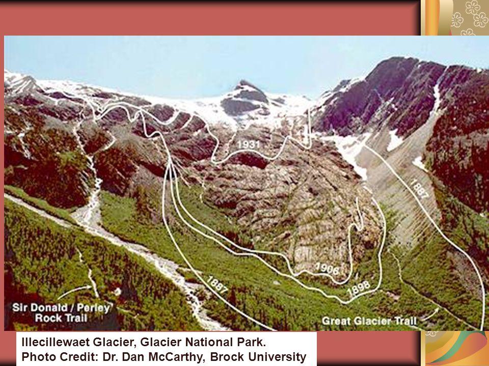 Illecillewaet Glacier, Glacier National Park. Photo Credit: Dr. Dan McCarthy, Brock University