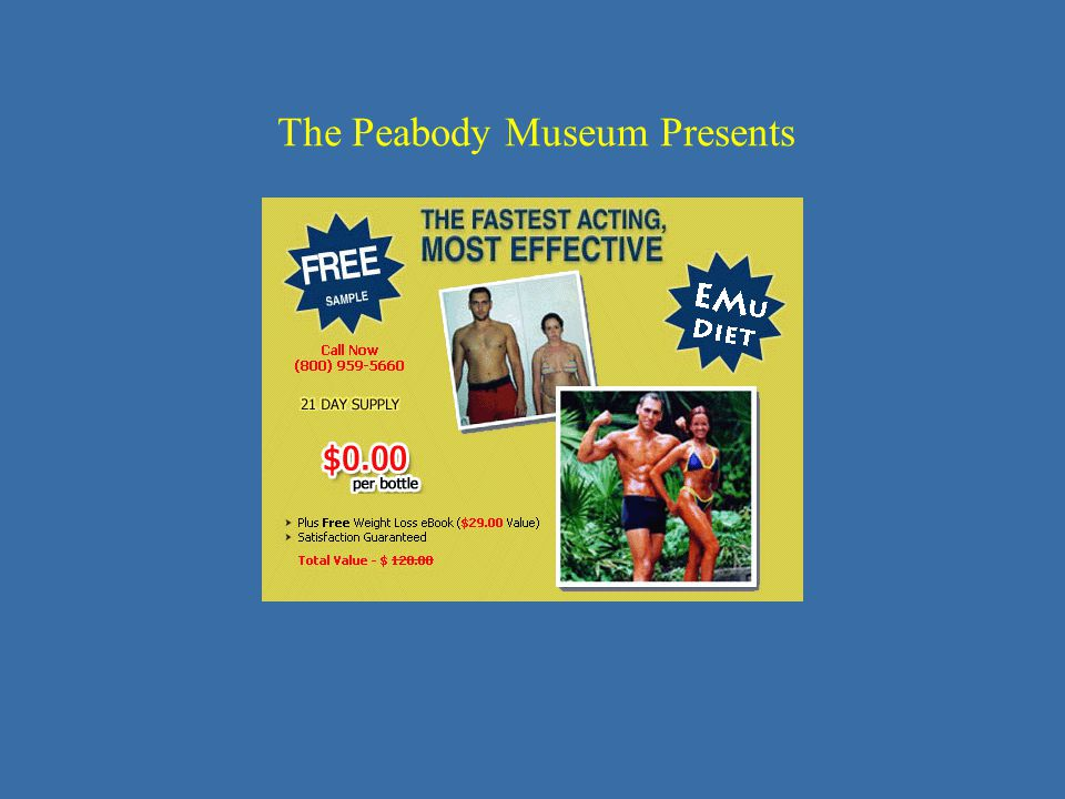 The Peabody Museum Presents