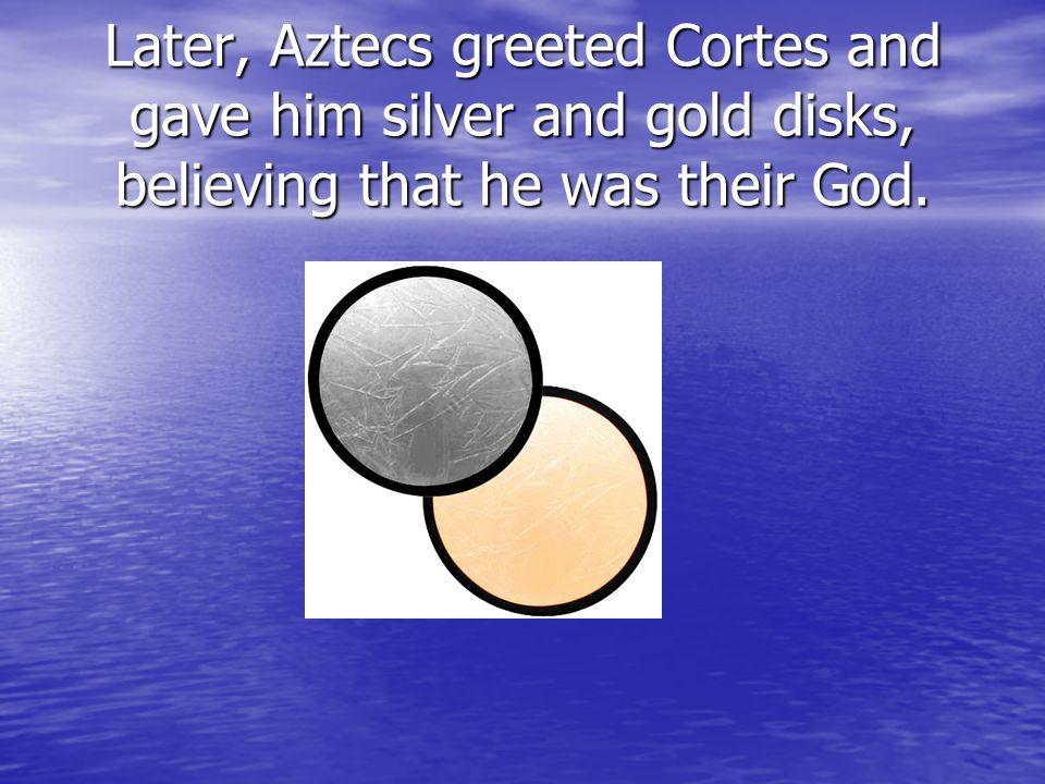 When Hernando Cortes reached Santo Mingo, a war began between his crew and the Natives.