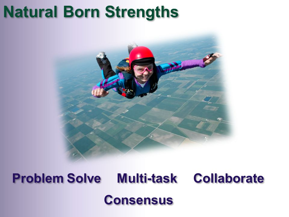 Natural Born Strengths Collaborate Multi-task Problem Solve Consensus