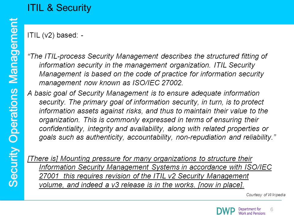 Security Operations Management 27 Successes and Advantages Access to Thought Leadership, Innovation and Industry Research, Ability to resource fluctuations in demand (e.g.