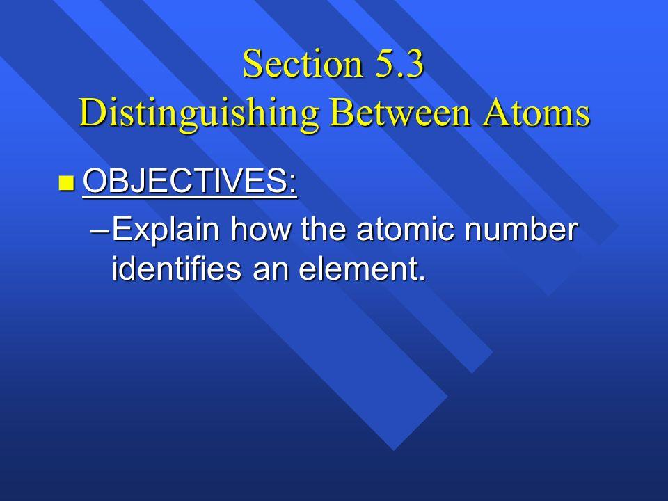 Subatomic particles – p.111 Electron Proton Neutron NameSymbolCharge Relative mass Actual mass (g) e-e- p+p+ n0n0 +1 0 1/1840 1 1 9.11 x 10 -28 1.67 x