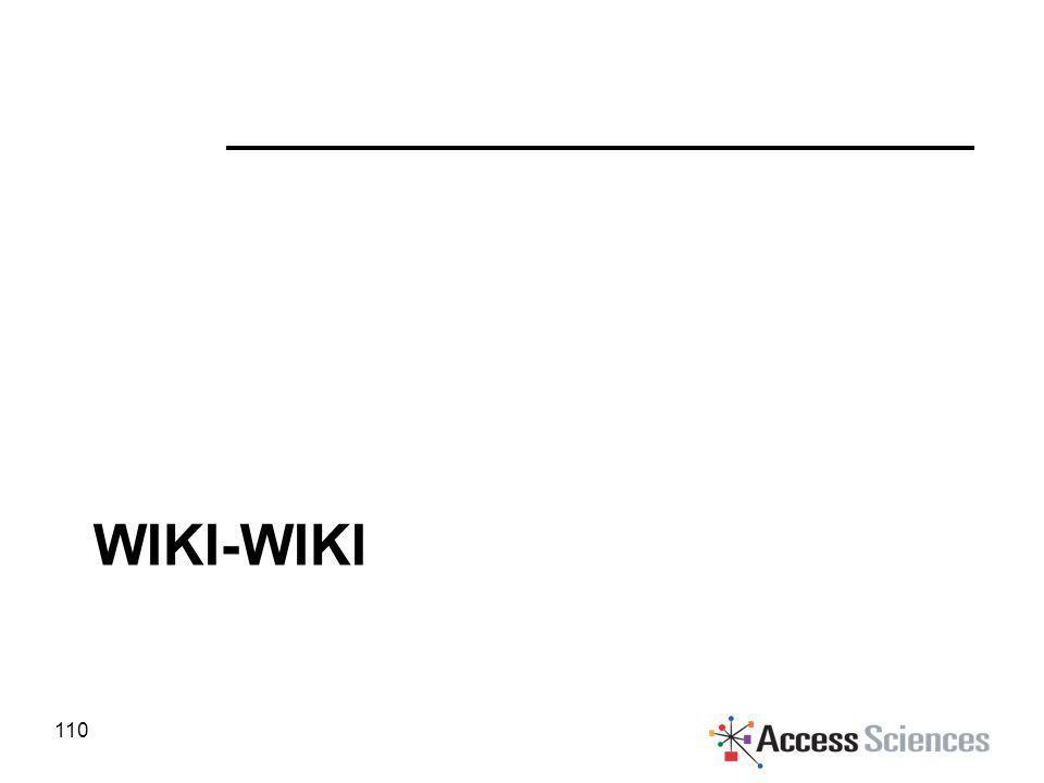 WIKI-WIKI 110