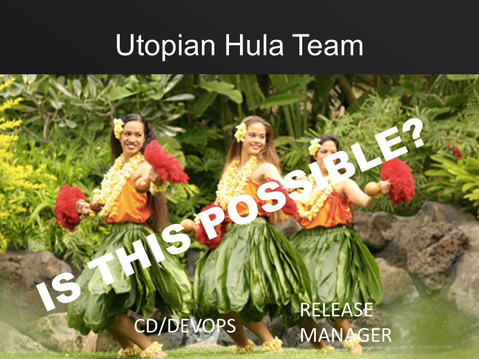 Utopian Hula Team CD/DEVOPS RELEASE MANAGER IS THIS POSSIBLE?