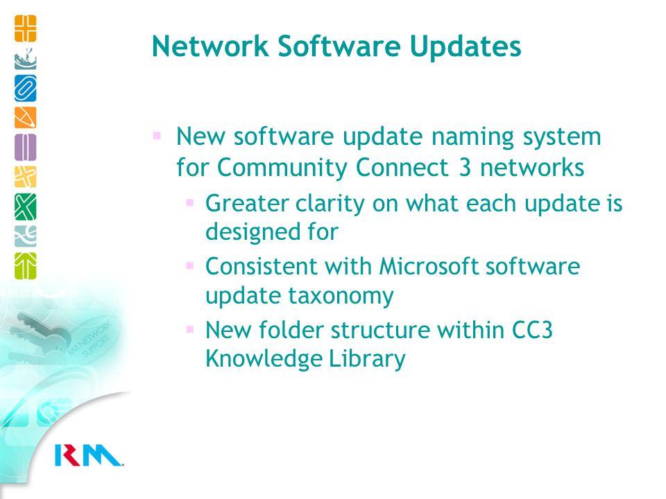 Network Software Updates