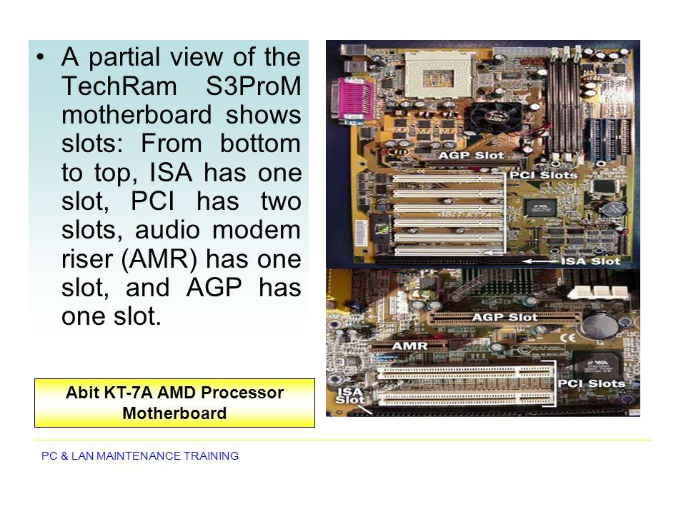 PC & LAN MAINTENANCE TRAINING Network Topologies Star network topology