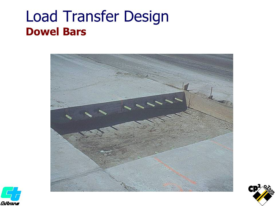 Load Transfer Design Dowel Bars