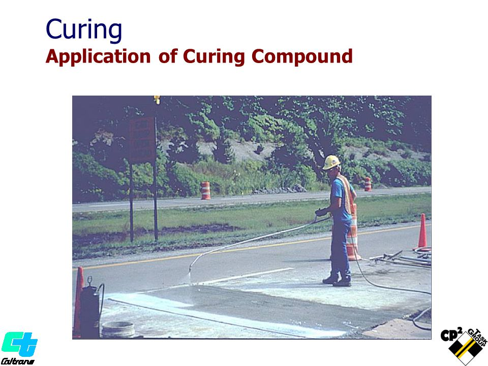 Curing Application of Curing Compound