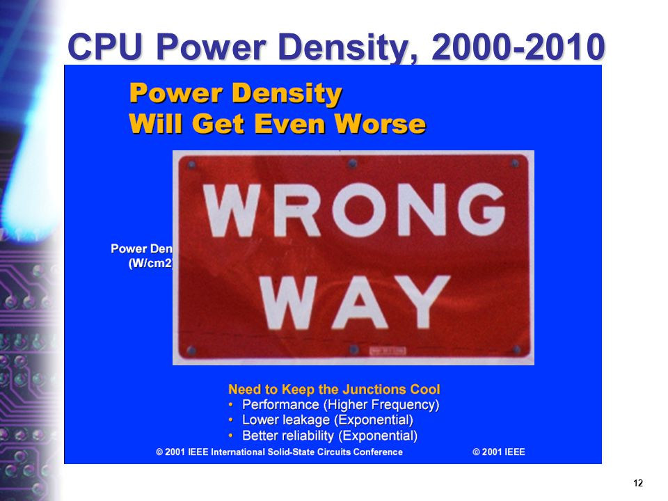 11 CPU Power Trends
