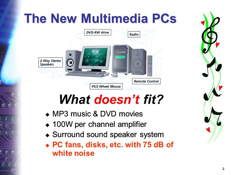 January 23-24, 2002 Towards the Fanless PC Bill Gervasi Technology Analyst, Transmeta Chairman, JEDEC Memory Parametrics bilge@transmeta.com
