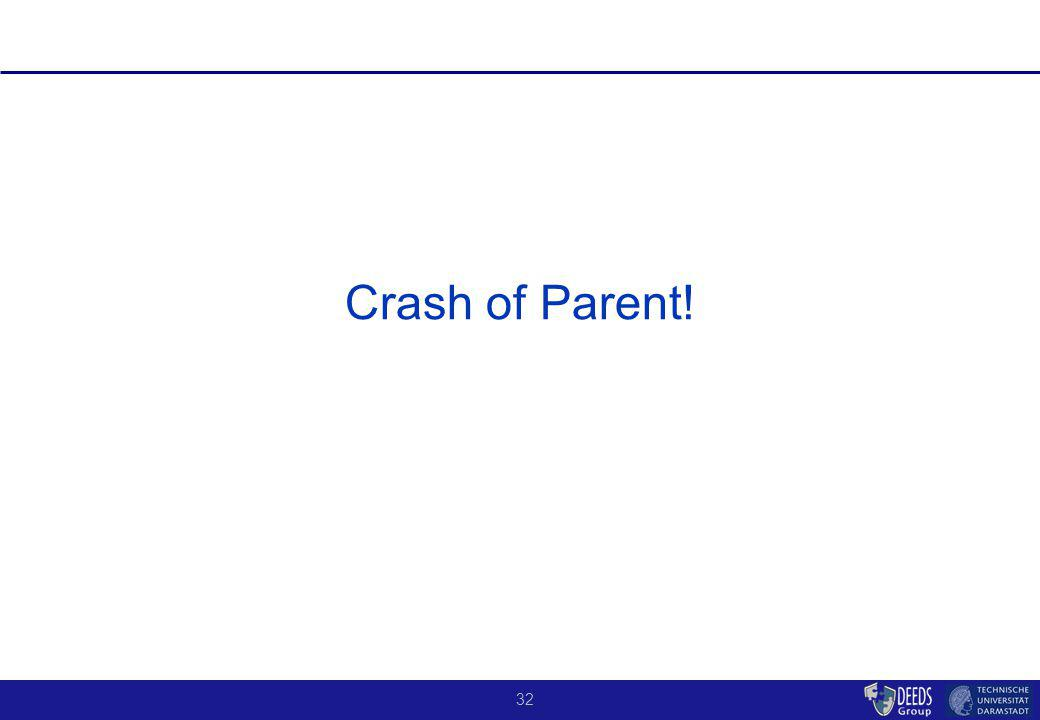 32 Crash of Parent!