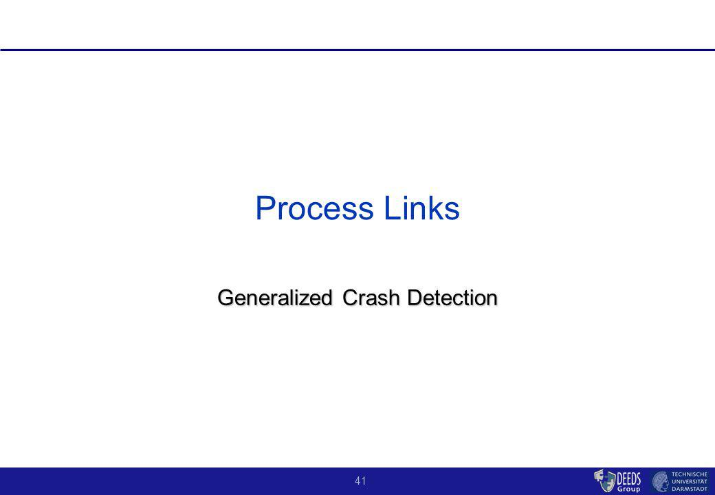 41 Process Links Generalized Crash Detection