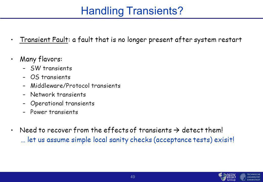 49 Handling Transients.