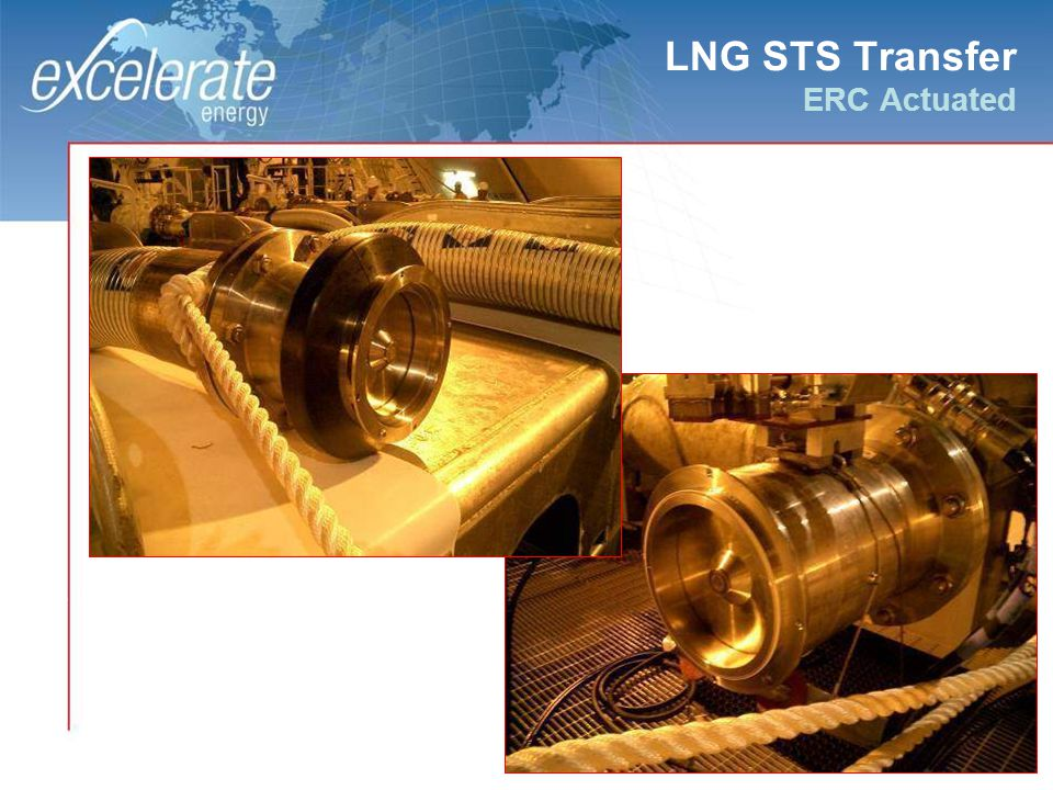 35 LNG STS Transfer ERC Actuated 0.8 Liter Volume Between The Disks