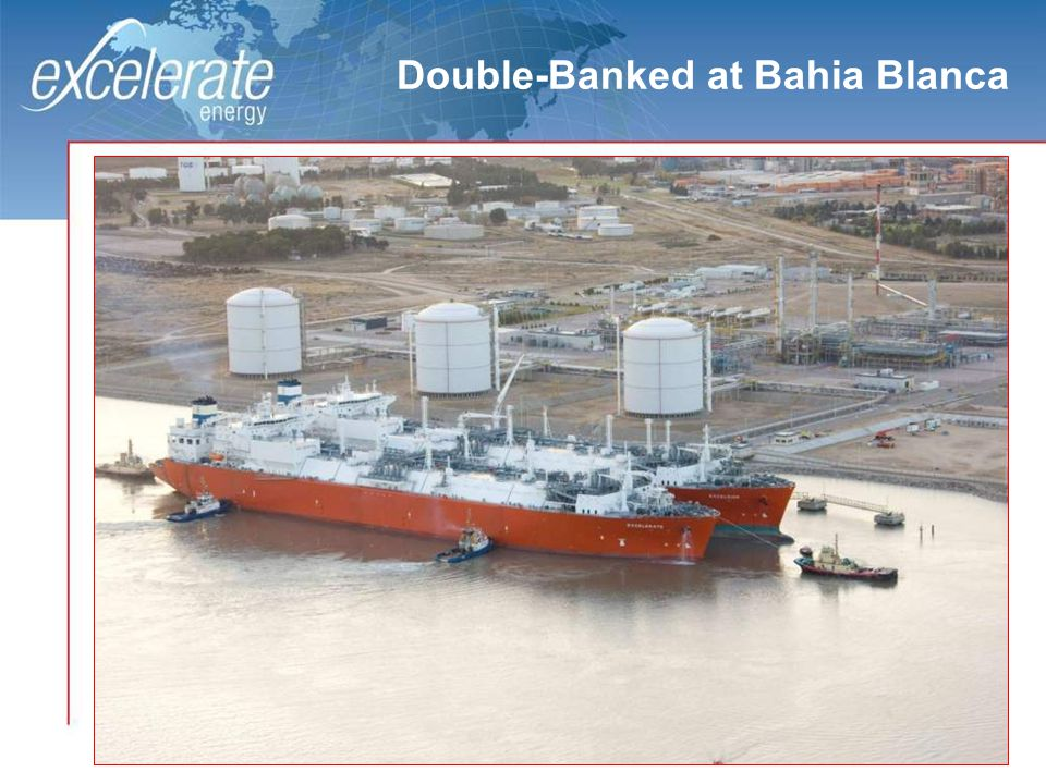 6 Double-Banked at Bahia Blanca