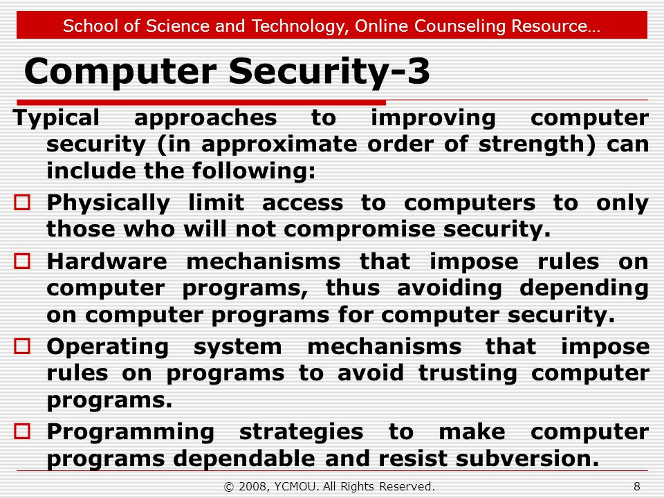 School of Science and Technology, Online Counseling Resource… Software Cracking-9 A good example of this technique is a crack that removes the expiration period from a time-limited trial of an application.