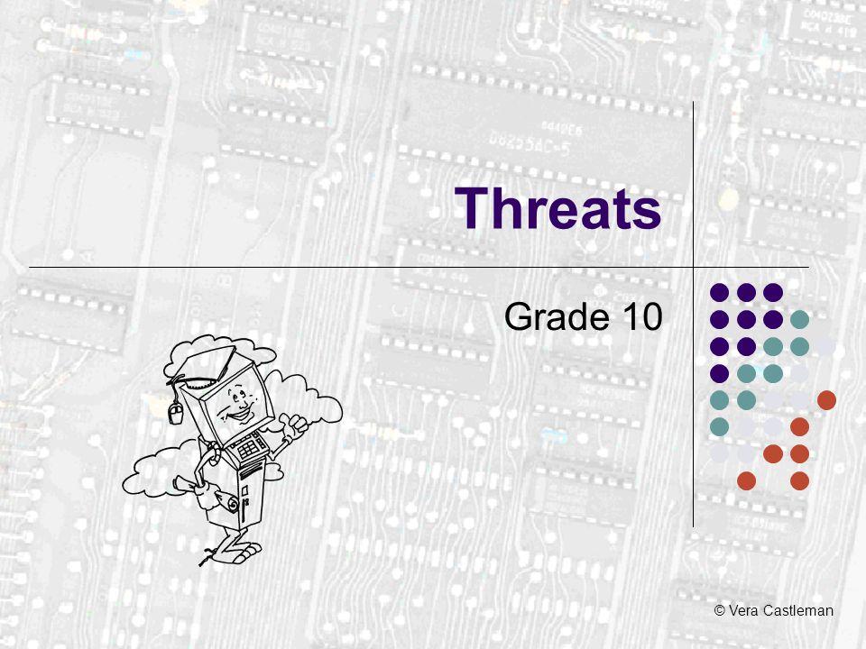© Vera Castleman Threats Grade 10