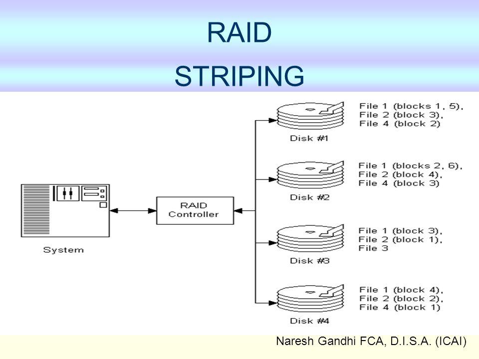 Naresh Gandhi FCA, D.I.S.A. (ICAI) RAID STRIPING