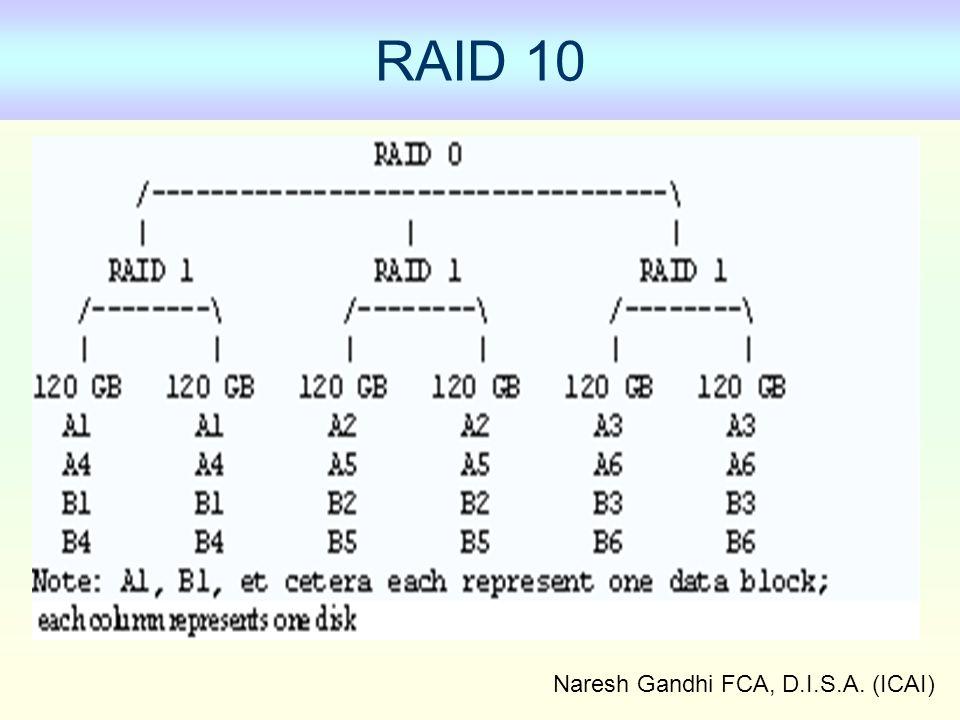 Naresh Gandhi FCA, D.I.S.A. (ICAI) RAID 10