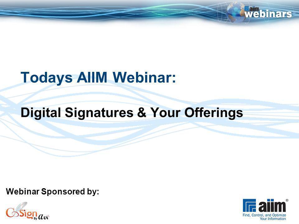 CoSign® Digital Signatures: Welcome to VARs or ISVs John Marchioni VP Business Development, ARX ARX | 855 Folsom St.
