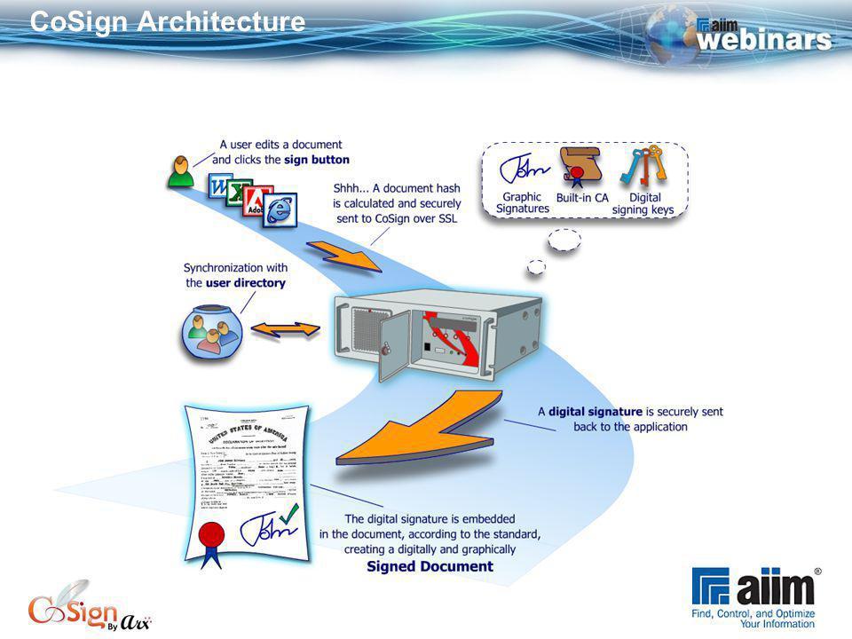 CoSign Architecture
