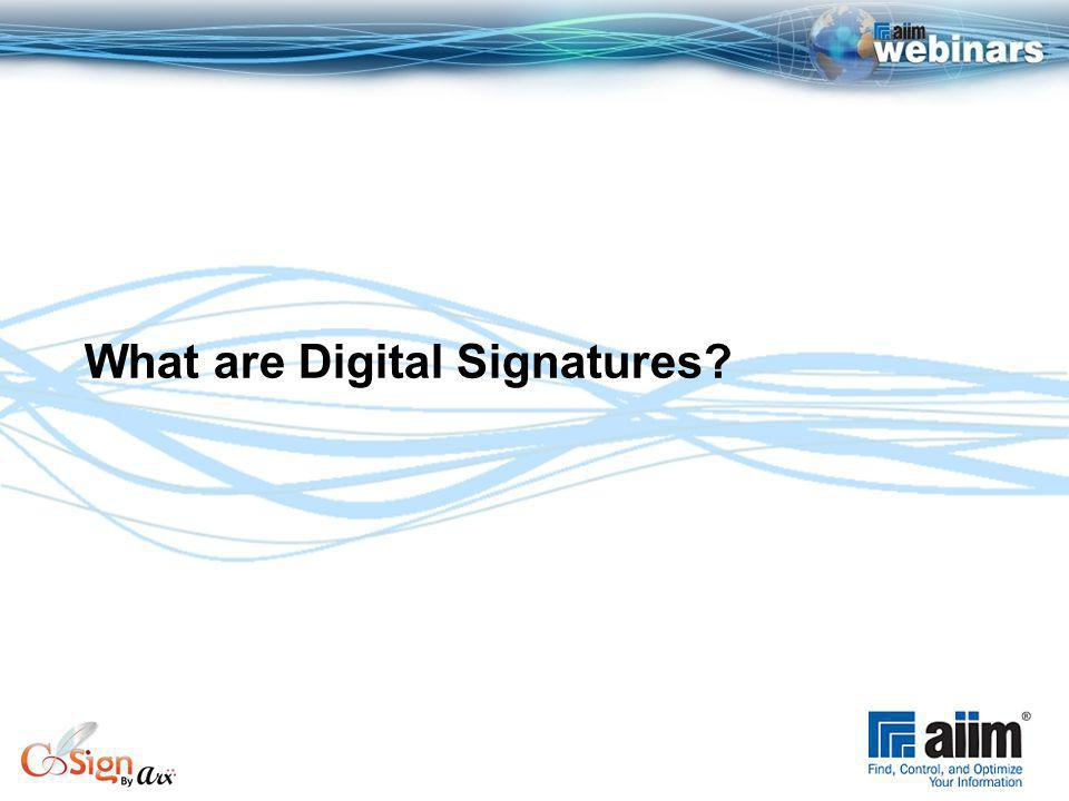 What are Digital Signatures