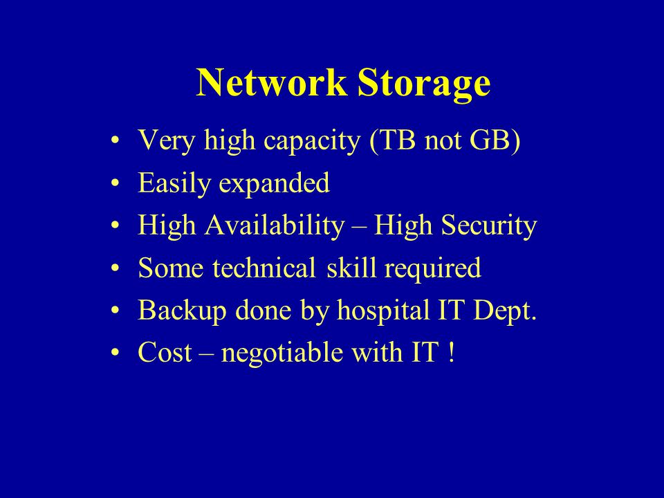 City Hospital Solution Odyssey Camera Network Storage Area Network Camera To Hospital Network Gateway Hospital Server running Microsoft Services For Unix