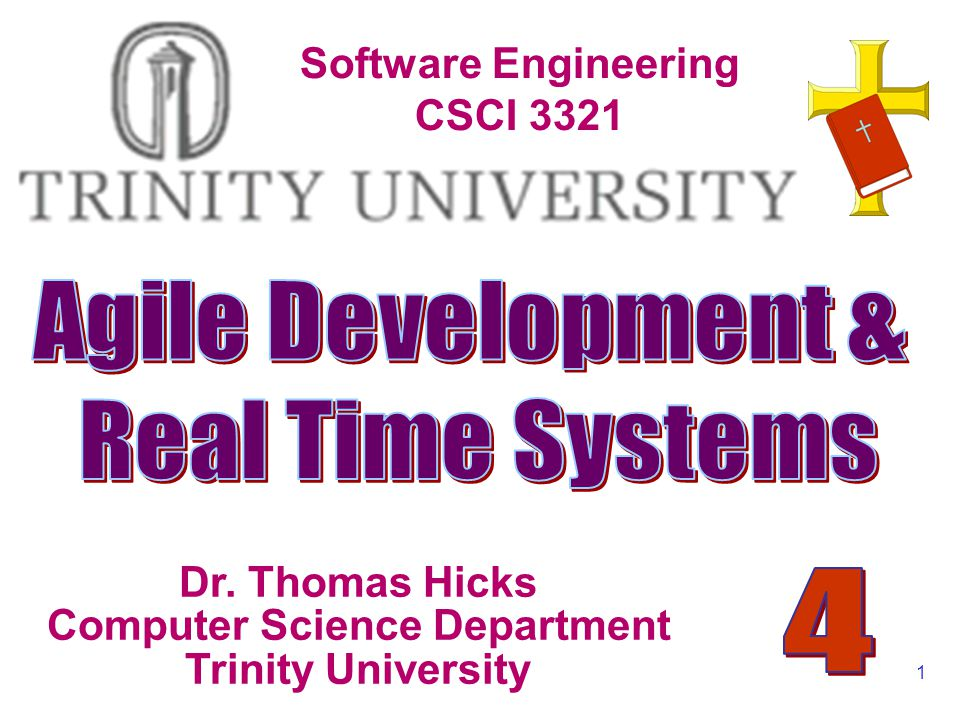 Software Engineering : A Practitioners Approach Agile Development & Real Time Systems Dr.
