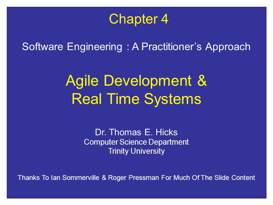 Agile Development Lite or Lean Methods