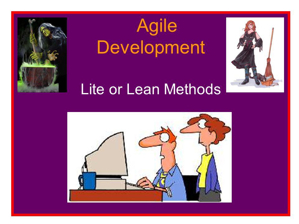 ASD Adaptive Software Development