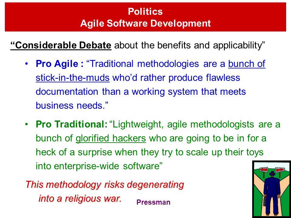 3 Major Steps of Adaptive Software Development (ASD) 1.